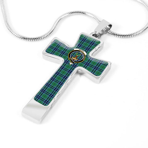 Image of Keith Tartan Jewelry - Cross Necklace K7
