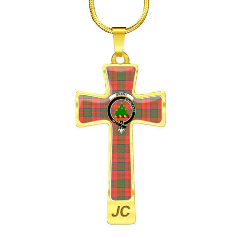 Image of Grant Tartan Jewelry - Cross Necklace |Accessories| Love The World