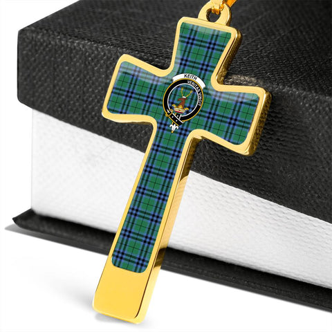 Keith Tartan Jewelry - Cross Necklace K7