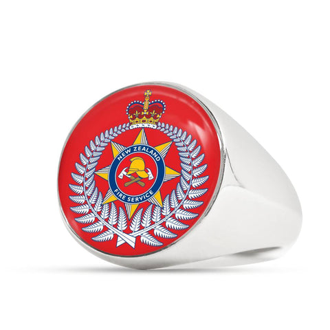 new zealand fire service, new zealand fire, ring, rings, crest ring, jewelry, jewelries, online shopping, accessories, accessory, cyber monday, black friday, new zealand ring, firefighter ring, 1sttheworld, firefighting crest