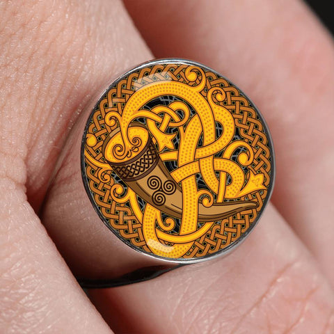 Image of Hondurul Celtic Crest Ring,Hondurul Celtic Ring,Hondurul Ring, Celtic Ring, Hondurul Celtic, celtic, ring
