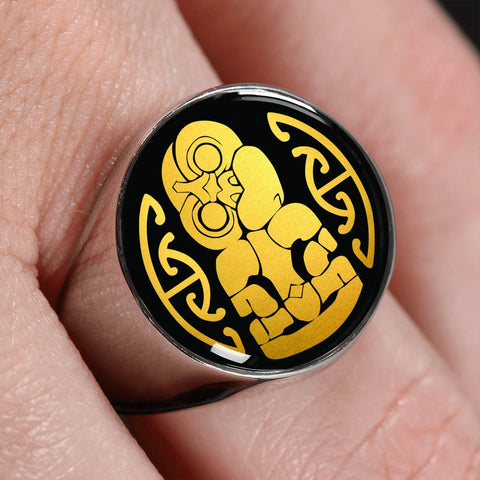 hei tiki, ring, rings, crest ring, jewelry, jewelries, online shopping, accessories, accessory, cyber monday, black friday, new zealand ring, hei tiki ring, 1stnewzealand, maori tiki