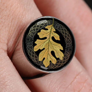 Leaf Celtic Crest Ring ,Leaf Celtic Ring, Celtic Ring, ring, celtic