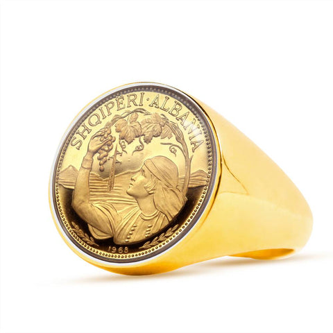 Albania Coins Ring K5