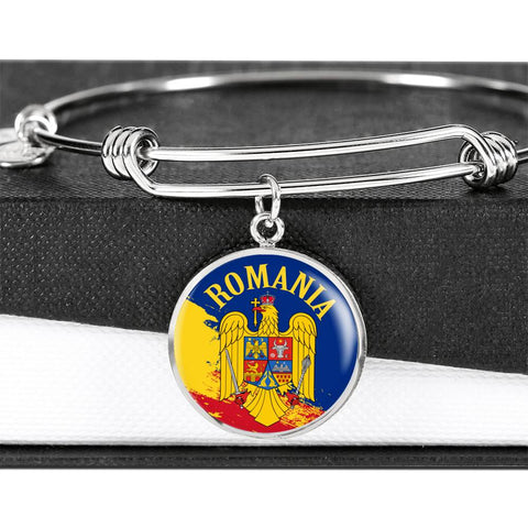 Romania Circle Bangle | High Quality | Custom Design