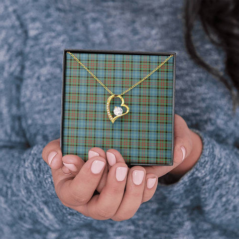 Image of Paisley District Tartan Necklace - The Love Knot 3011A7