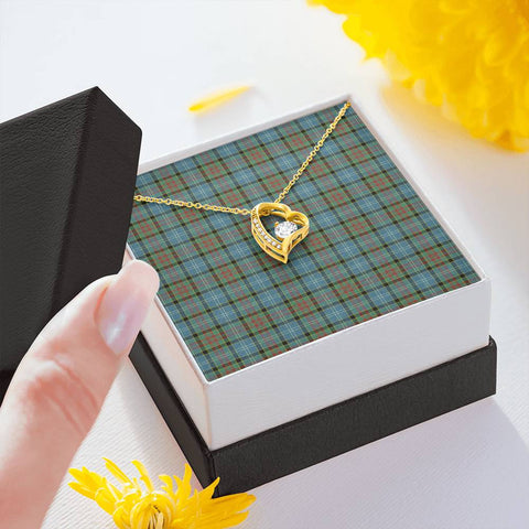 Paisley District Tartan Necklace - The Love Knot 3011A7