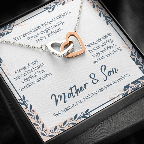 Mother And Son Necklace #IH303 A7