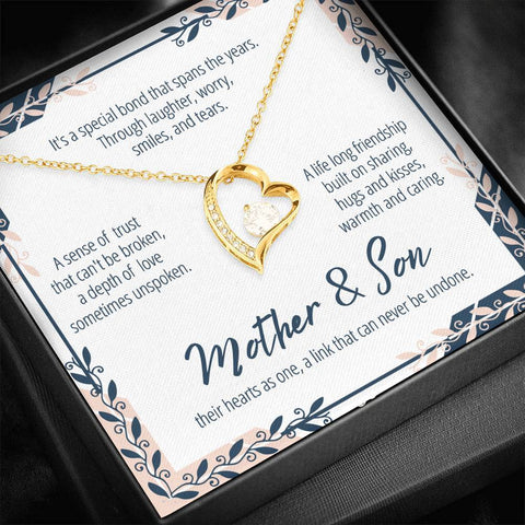Mother And Son Necklace #FL303 A7