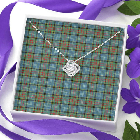 Image of Paisley District Tartan Necklace - The Love Knot A7