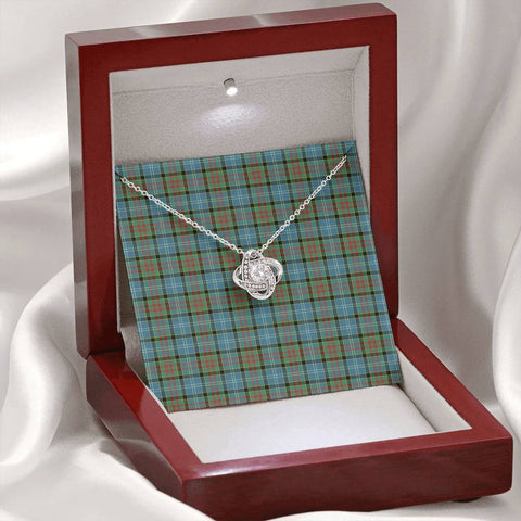 Paisley District Tartan Necklace - The Love Knot A7