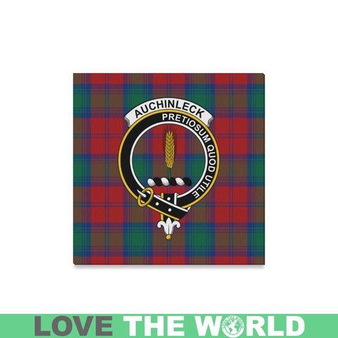Image of Tartan Canvas Print - Auchinleck Clan | Over 300 Scottish Clans and 500 Tartans