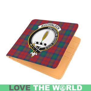 AUCHINLECK CLAN TARTAN MEN WALLET A3