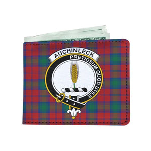 Auchinleck Clan Tartan Men Wallet Y3 Wallets