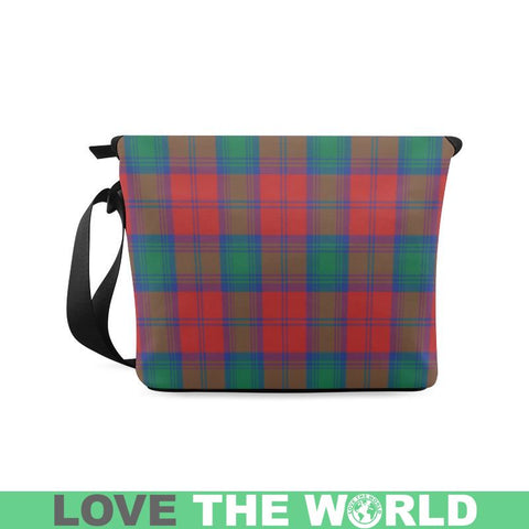 Image of Auchinleck Tartan Clan Badge Crossbody Bag C20 Bags