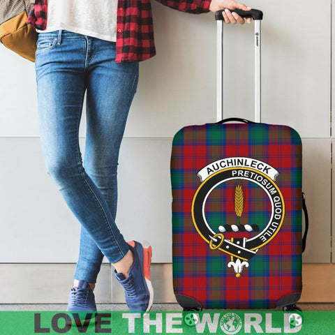 Auchinleck Tartan Clan Badge Luggage Cover Hj4 Covers