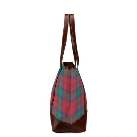 Auchinleck Tartan Clan Badge Tote Handbag Hj4 Handbags