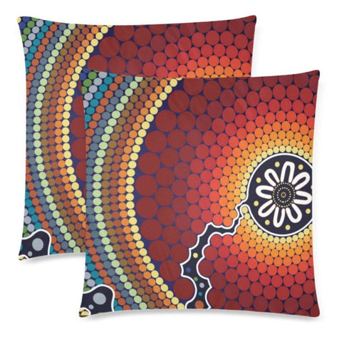 Australia 10 Pillow Case F1 One Size / 3 Custom Zippered Pillow Cases 18X 18 (Twin Sides) (Set Of 2)