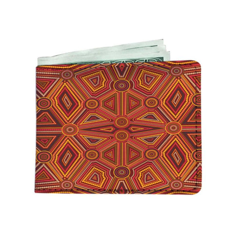 Australia Aboriginal Mens Wallet W7 Men Wallets