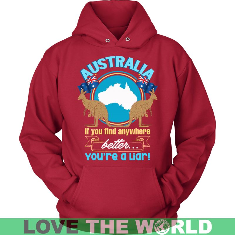 Australia Best Place To Live P1 T-Shirts District Unisex Shirt / Black S