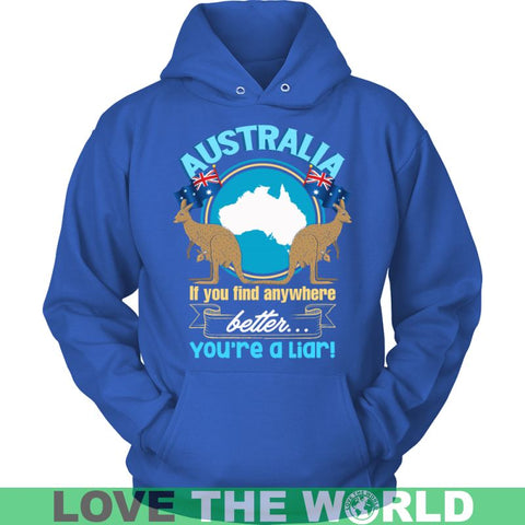 Image of Australia Best Place To Live P1 T-Shirts District Unisex Shirt / Black S