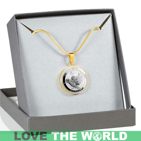 Australia Coin Jewelries 20 E7 Luxury Necklace (Silver)