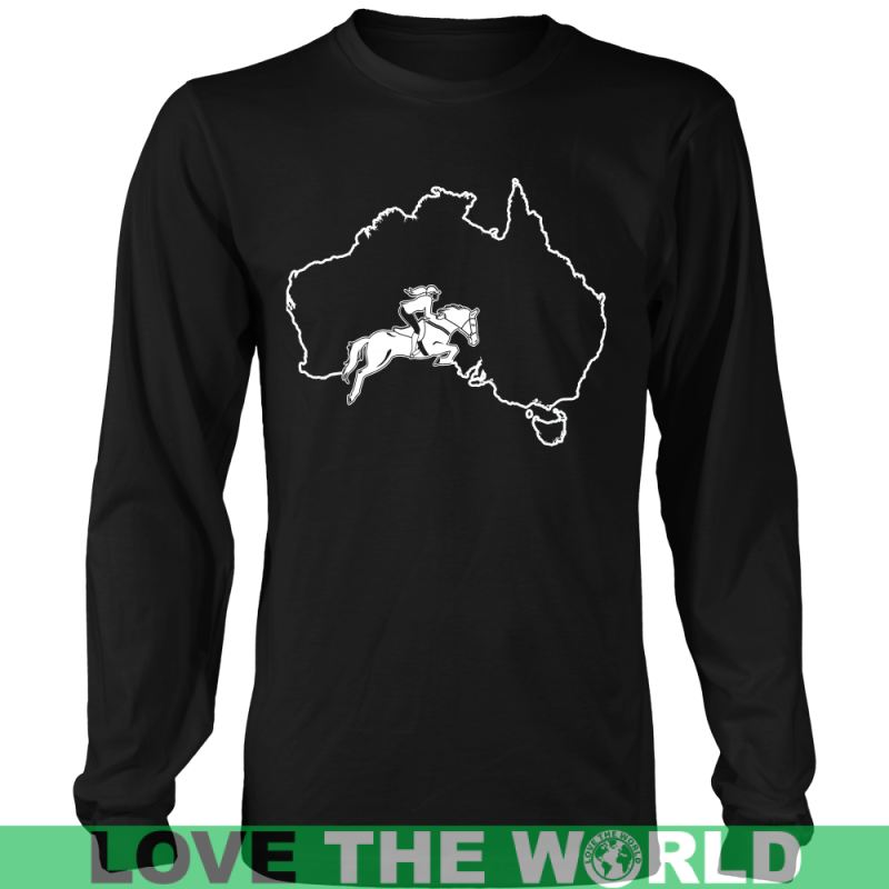 Australia-Horse Riding G8 Gildan Womens T-Shirt / Black S T-Shirts