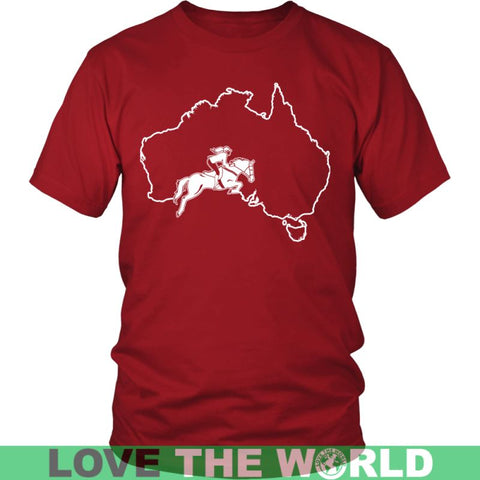 Image of Australia-Horse Riding G8 Gildan Womens T-Shirt / Black S T-Shirts