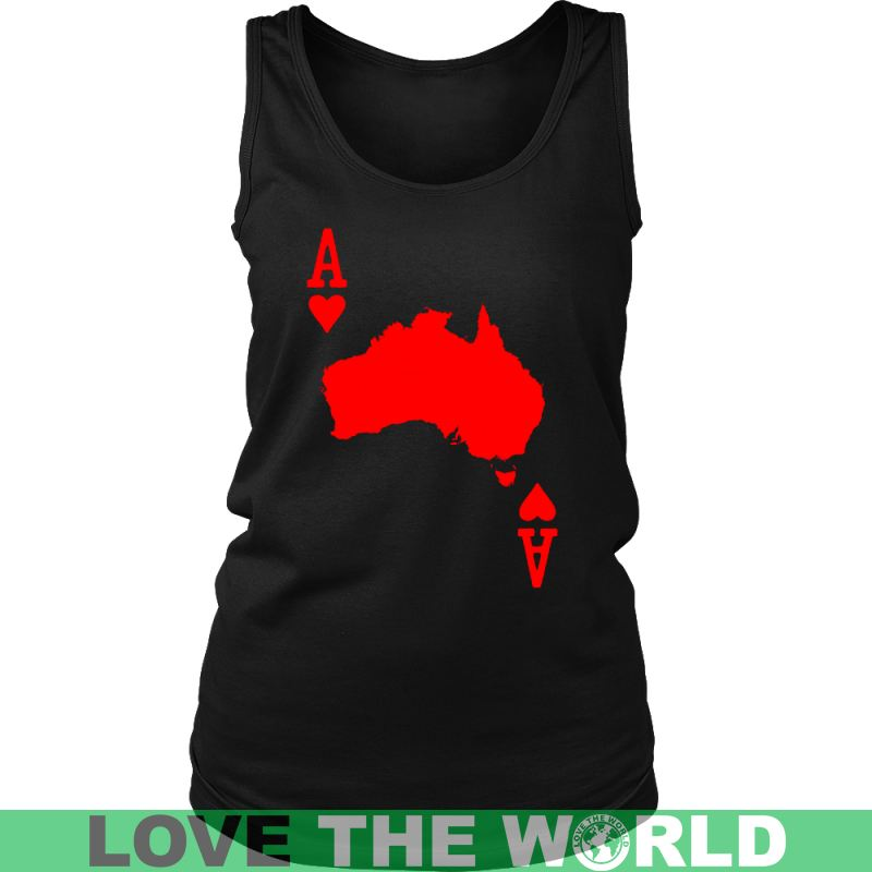 Australia Map - Card A9 District Unisex Shirt / White S T-Shirts