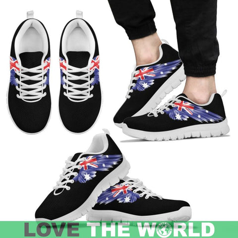 Image of Australia (Mens / Womens) Sneakers A8 Womens - White A9 Us5 (Eu35) Sneakers