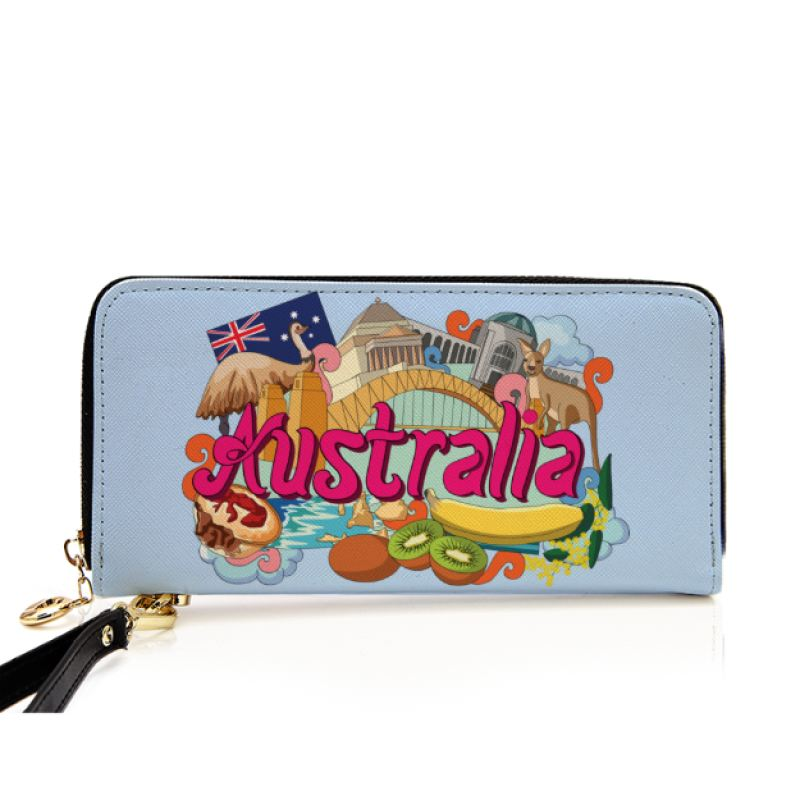 Australia National Symbol Wallet C1 1sttheworld