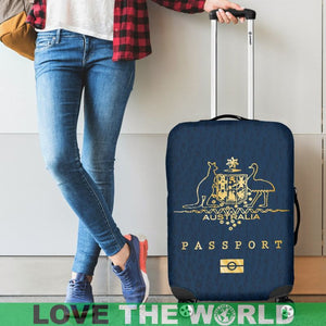 AUSTRALIA PASSPORT LUGGAGE COVER - BN