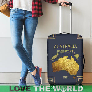 AUSTRALIA PASSPORT LUGGAGE COVER - BN05