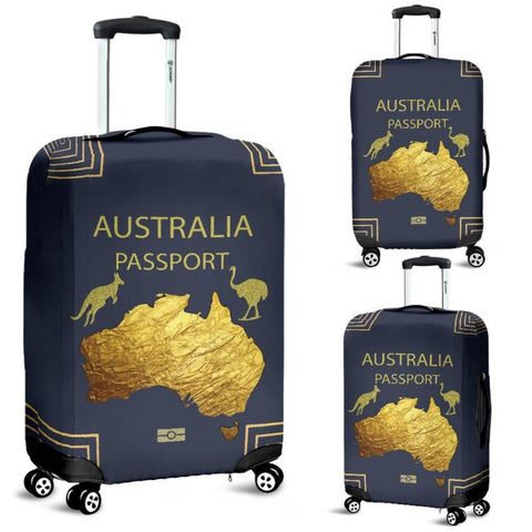 Australia Passport Luggage Cover - Ro7 Covers