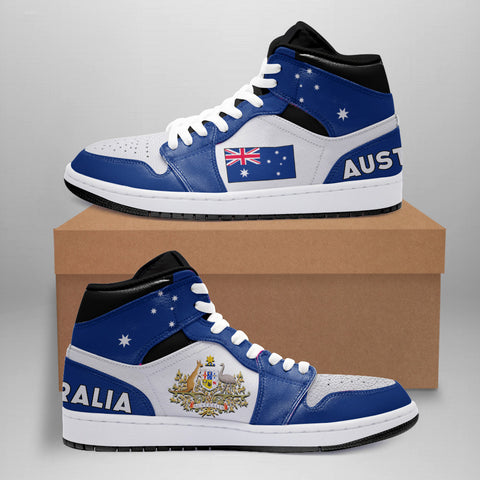 Australia High Top Shoes - Basic Style