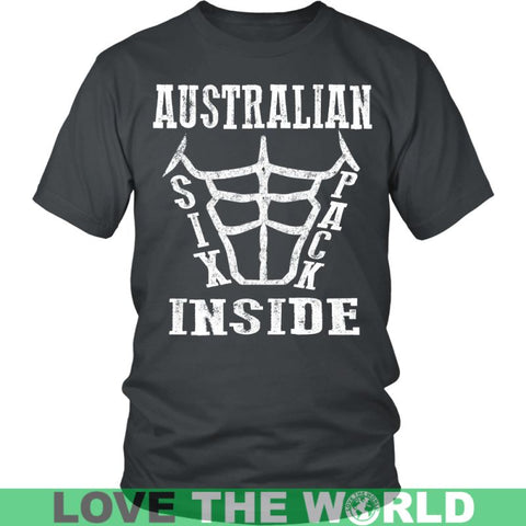 Image of Australian Six Pack Inside District Unisex Shirt / Royal Blue S T-Shirts