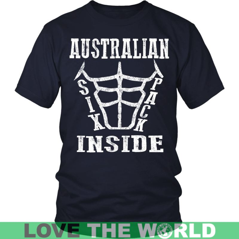 Australian Six Pack Inside District Unisex Shirt / Royal Blue S T-Shirts