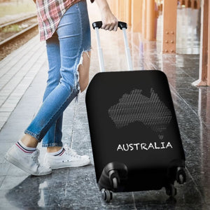 Map of australia luggage cover - map of australia, australia luggage cover, australian map, accessories, online shopping