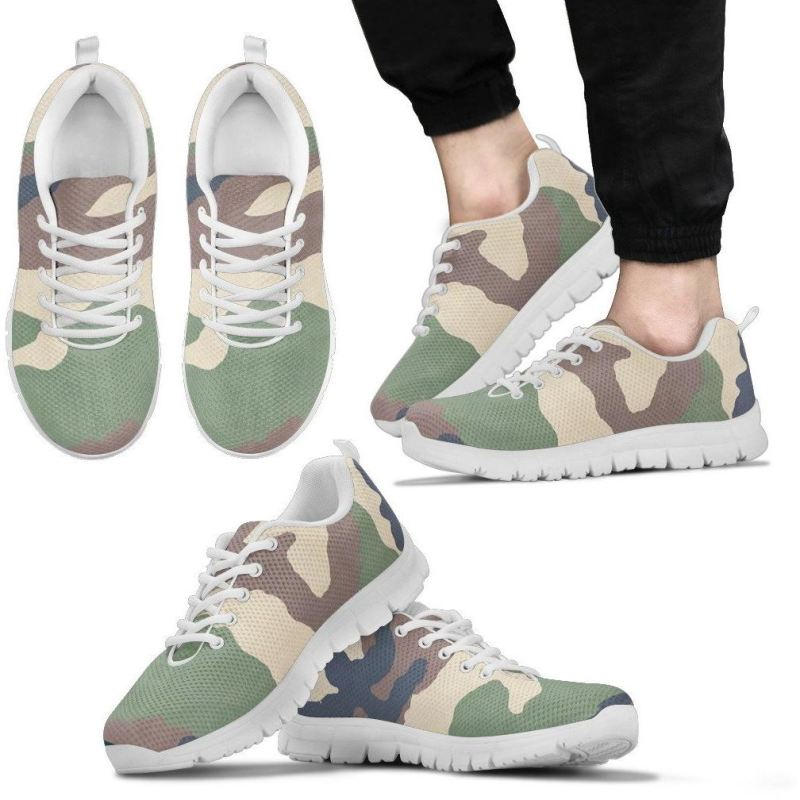 Austria Army Sneakers A1 Mens Sneakers - White / Us5 (Eu38)