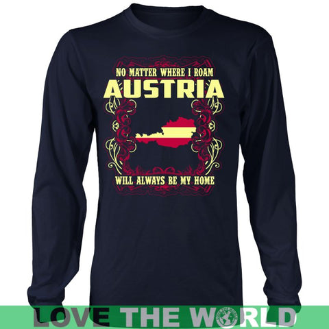 Image of Austria Will Always Be My Home ( Han ) Gildan Womens T-Shirt / Black S T-Shirts