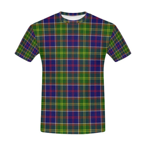 Image of Tartan T-shirt - Ayrshire District| Tartan Clothing | Over 500 Tartans and 300 Clans
