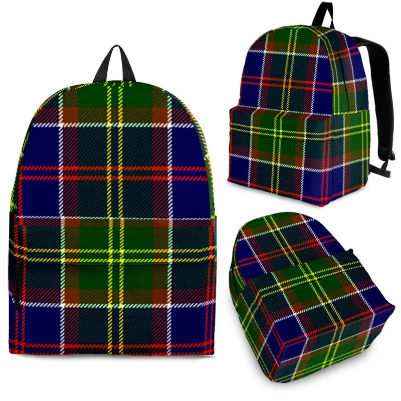Ayrshire District Tartan Backpack Backpacks