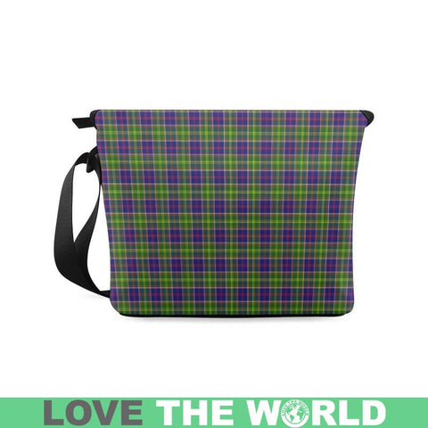 Image of Ayrshire District Tartan Crossbody Bag Nl25 Bags