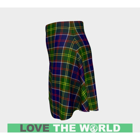 Tartan Skirt - Ayrshire District Women Flared Skirt A9 |Clothing| 1sttheworld