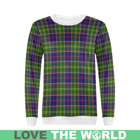 Ayrshire District Tartan Sweatshirt Nn5