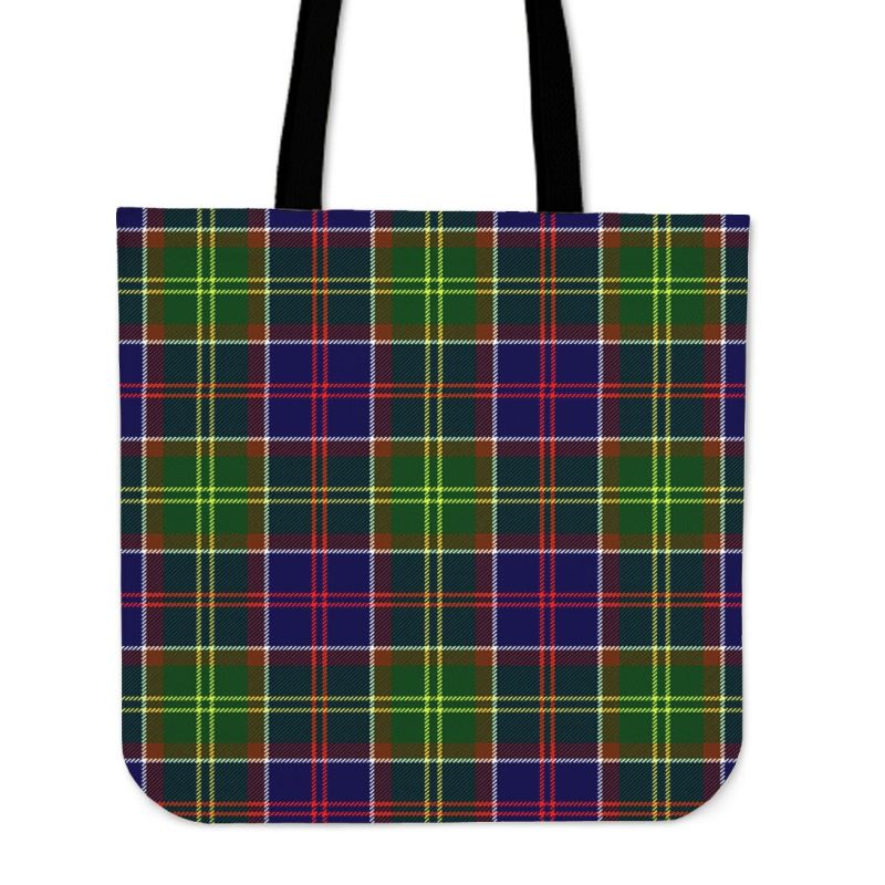 Ayrshire District Tartan Tote Bags