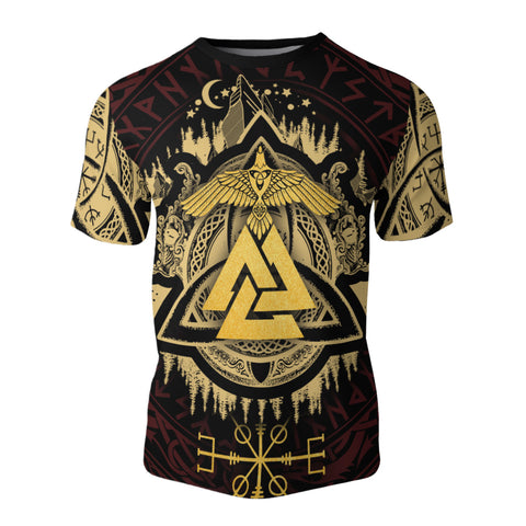 Image of Valknut Viking All Over T-Shirt Bn10