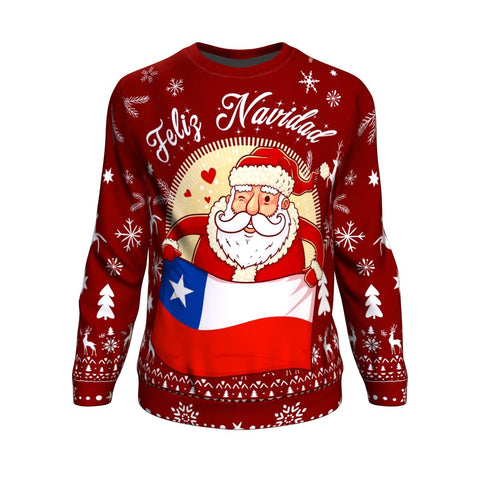 Image of Chile Sweatshirt Chritstmas | Special Design | 1sttheworld