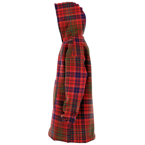 Image of Lumsden Modern Snug Hoodie - Unisex Tartan Plaid Left