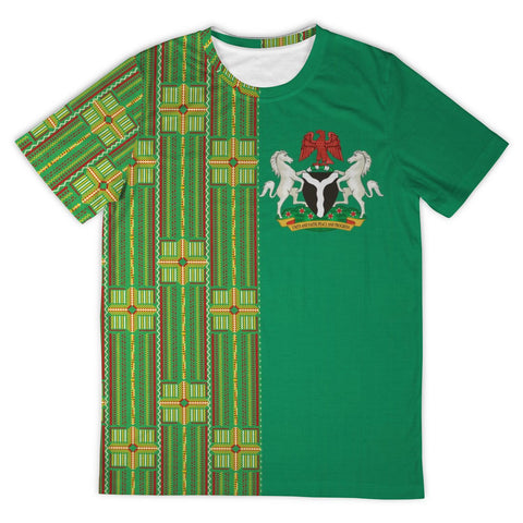 Image of Latest Ankara T-Shirt - Nigeria 2019